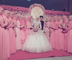 Wedding muslim in Thailand  | via Facebook