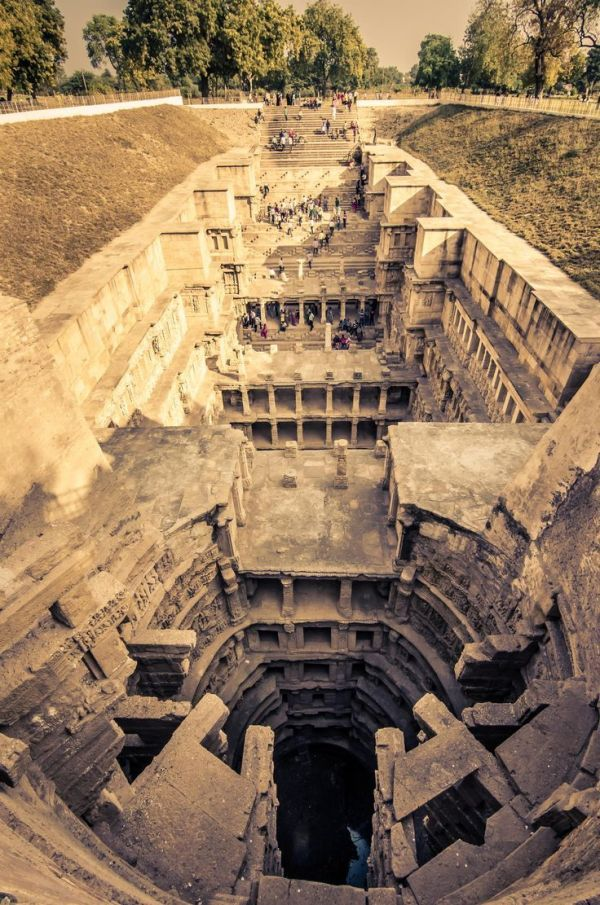 The Queen's Stepwell, Gujarat, India
