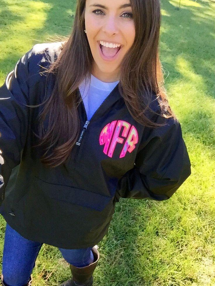 Best 25  Monogram rain jackets ideas on Pinterest   Monogrammed ...