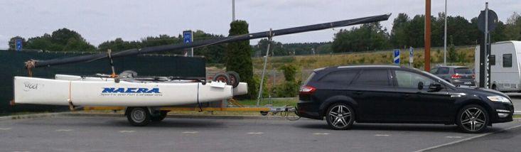 Nacra F17 unterwegs.   www.catamaran-freunde.de