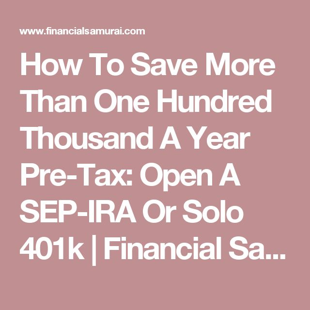 1000+ Ideas About Sep Ira On Pinterest