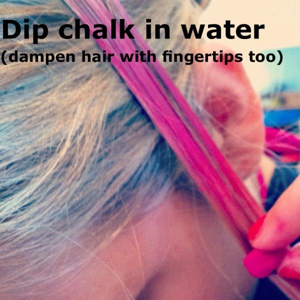 Making temporary streaks in you hair: like home made dye that doesn't last as long!!! Awsome!!! I just tried and it works very well, even on brown hair! Yippy!!!!