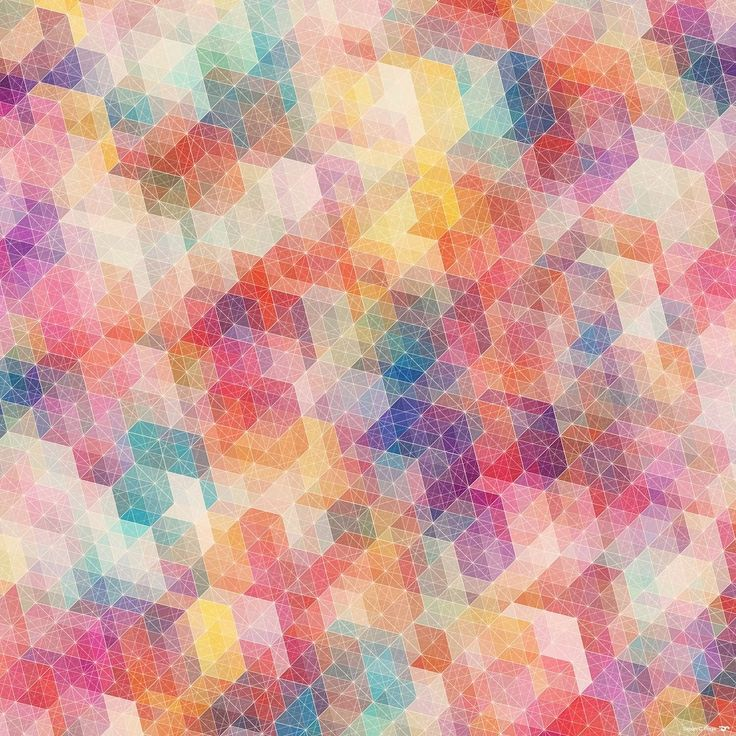 Geometric pattern, playing with color.