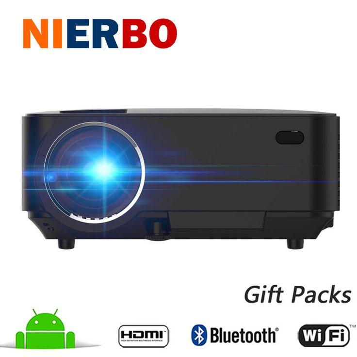 Bluetooth Wireless Projector 1500 Lumens Android WiFi Long life LED 1080P Full HD Projector Home Cinema TV Beamer HDMI USB AV