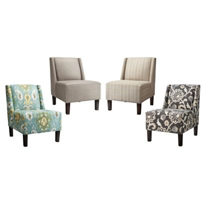 Hayden Armless Upholstered Chair Collection
