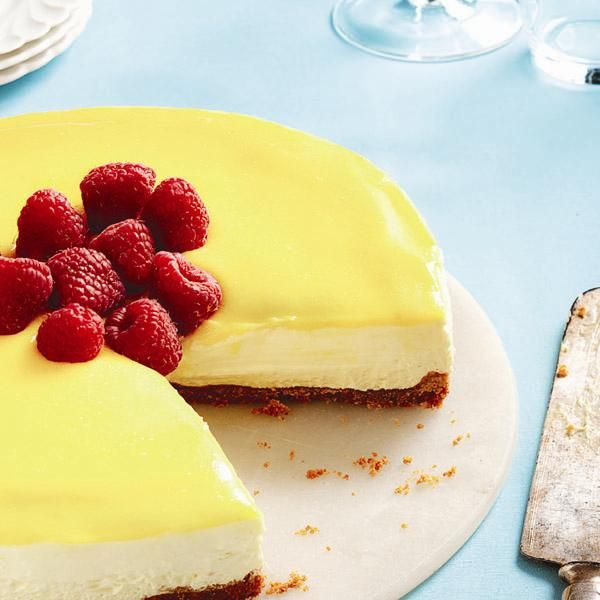 No-bake lemon mascarpone cheesecake. 30 of our most popular Pinterest recipes - Chatelaine.com