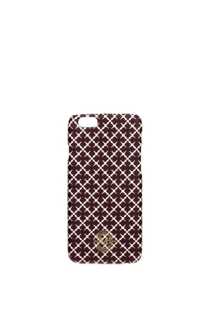 Phone Case - iPhone 6 Pamsy DEEP PLUM - By Malene Birger - Designers - Raglady