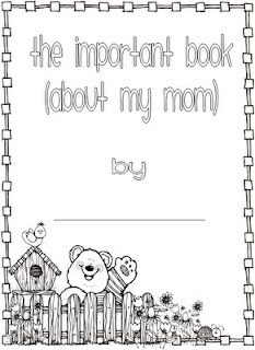 mothers day book based on The Important Book