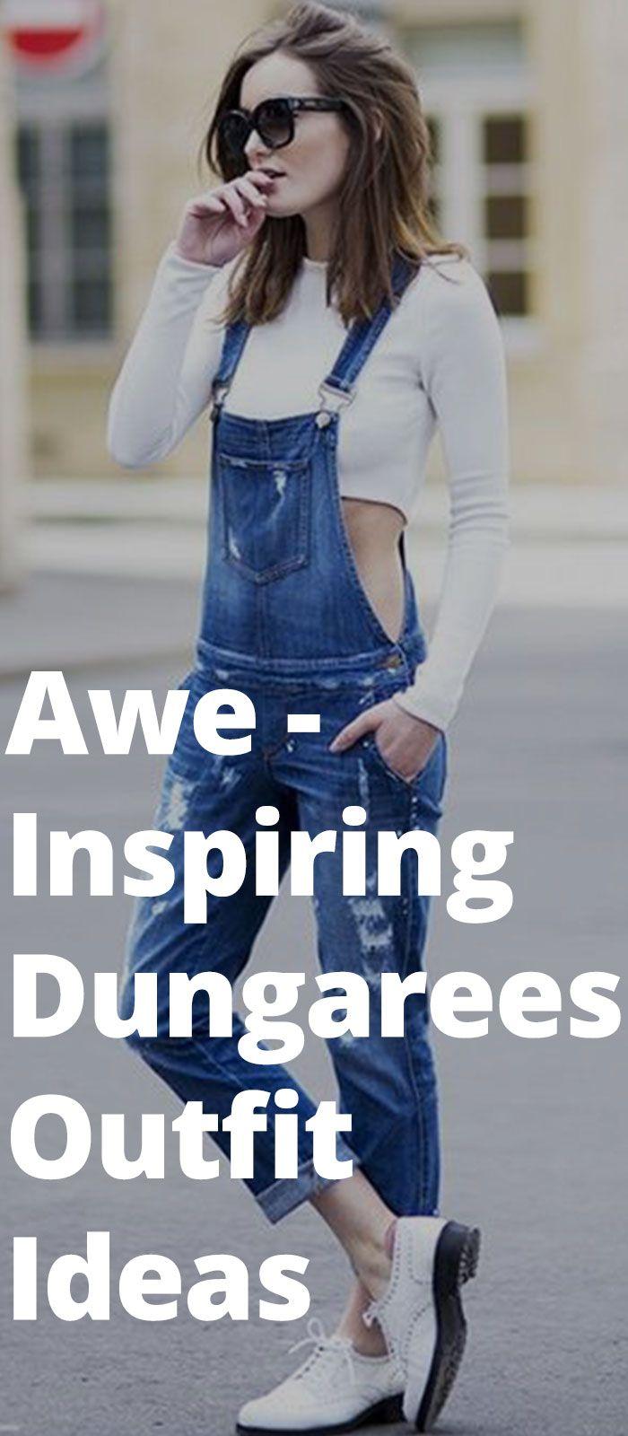 Awe-Inspiring Dungarees Outfit Ideas