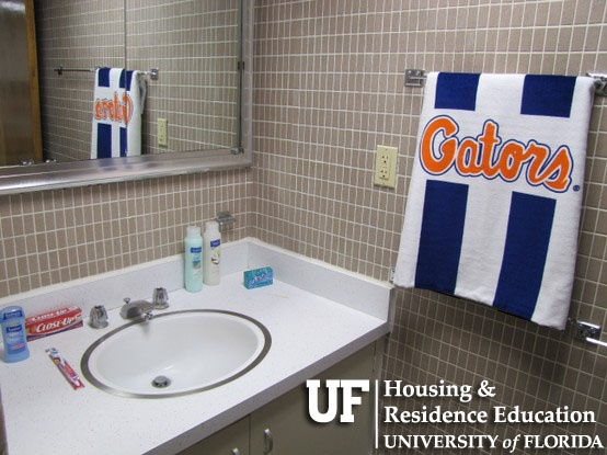 University Of Florida Housing: Beaty Hall Bathroom