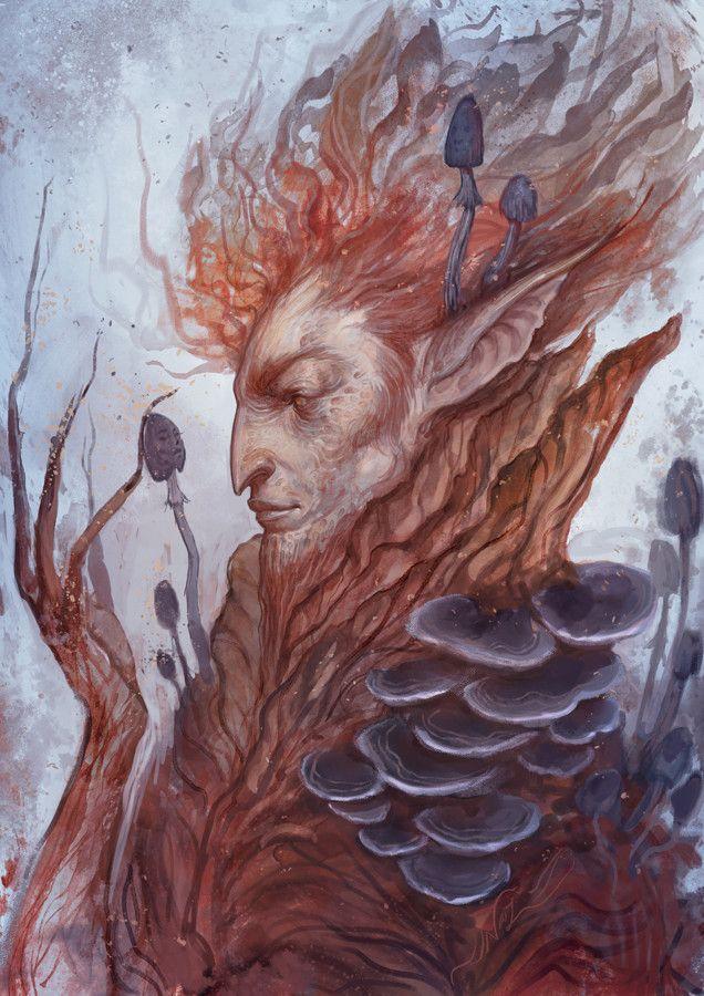 ArtStation - Fungi Faerie, Nazanin Nemati