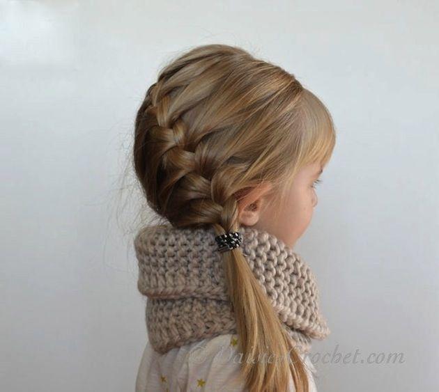 Penteado infantil: passo-a-passo de como fazer uma trança embutida