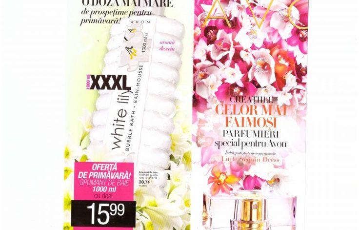 Catalog Avon 5 2017 aduce creațiile celor mai faimoși parfumieri special pentru Avon. Noua aromă Little Sequin Dress va întregi gama Little Dress cu o compoziție strălucitoare, efervescentă. Afli acum informații despre parfumierii care creează penru Avon, precum Olivier Cresp.