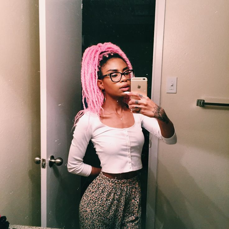 Pink Braids This Natural Human Hair Extensions Can Be