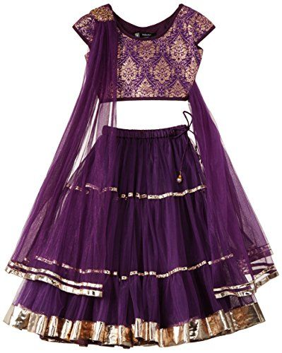 Kidology In-house Collection by Maya Nocon Girls' Lehenga Set (KD/G/LH/S1-11/NP-0263_Purple_5-6 Years) Kidology http://www.amazon.in/dp/B00NAVU4D4/ref=cm_sw_r_pi_dp_ErElwb0K3WGM7