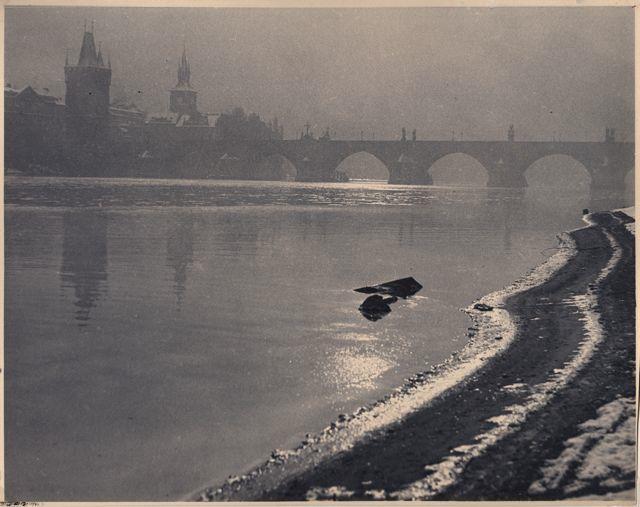 Drahomir Josef Ruzicka - Prague-The Old Bridge,... - .