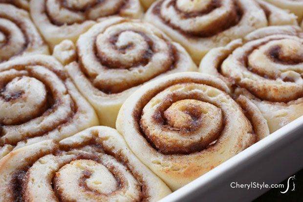 Super scrumptious gluten-free cinnamon rolls with cream cheese icing | CherylStyle.com
