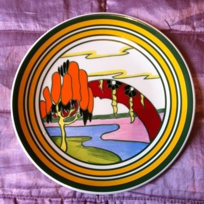Clarice Cliff, Solitude Pattern