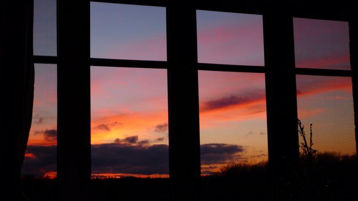 Sunset in December 2014