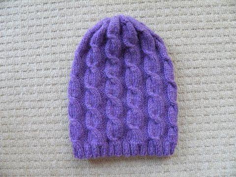 czapka w warkocze - YouTube