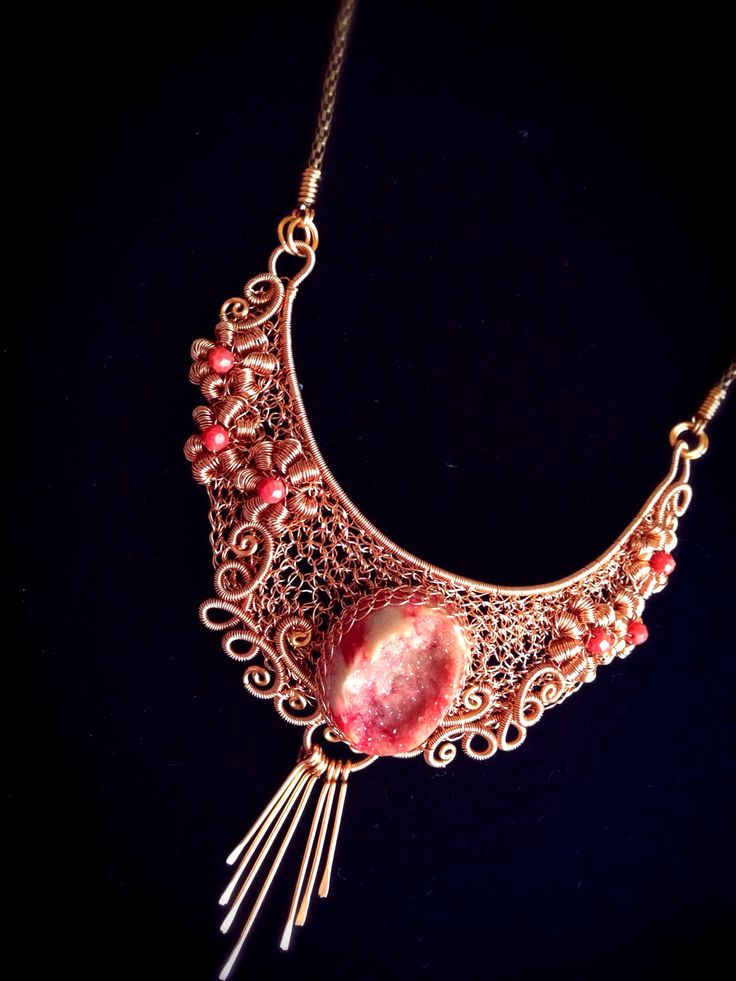 Shima's sister...  #crochetwire #wirejewelry