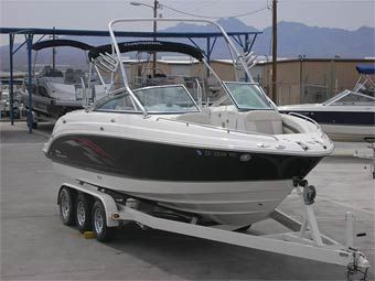 The Boat Brokers & RV (800) 488-0258 2004 26' Chaparral 256 SS I Open Bow  -  $45,995