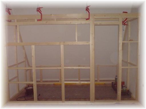 1e fase frame opbouw