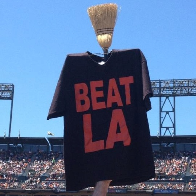 Giants sweep the Dodgers | My sport obsession | Pinterest ...