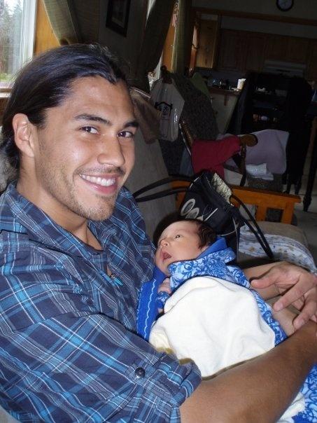 Model Martin Sensmeier belongs to the Tlingit and Koyukon-Athabascan Nations
