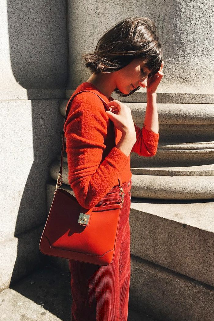 10 All-Red Outfits to Get You Into the Holidays via @WhoWhatWearUK