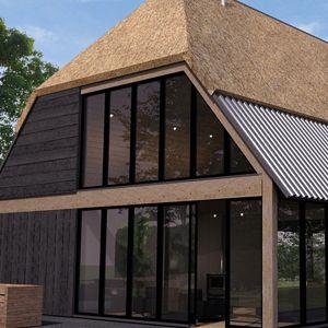 Meer dan 1000 idee n over moderne boerderijen op pinterest boerderij modern en huizen - Zeer moderne woning ...