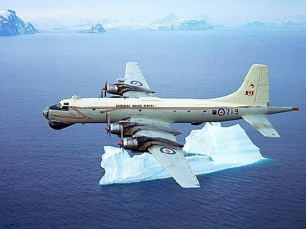 In 1954, beginning with a request by the Royal Canadian Air Force (RCAF) for a long range maritime patrol aircraft that could also be used as a transport, Canadair took on the task of turning Bristol Britannias into what would be known as the CL-28 Argus or the CC-106 Yukon (the CL-44-6 Yukon was the RCAF's transport version).