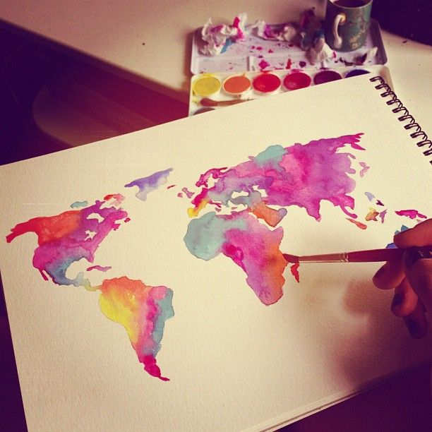 Colorful World, by Style Scrapbook