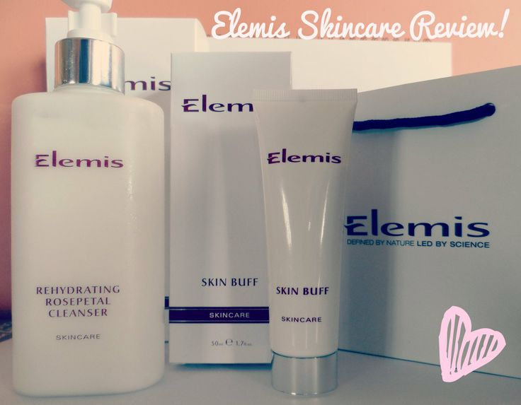 Great Elemis review on a few skincare products!