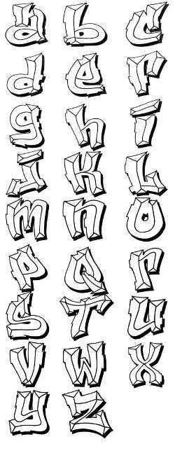 Graffiti Alphabet Letters Illustration Graffiti Alphabet Letters 6236 › Graffiti Wildstyle Letters Design › Full Size GraffitiZen.com Preview More