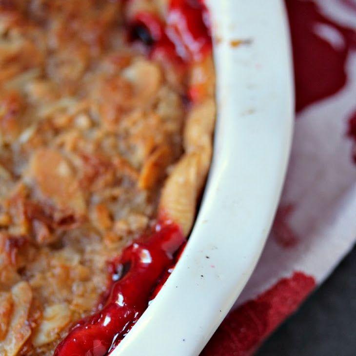 Almond Macaroon Cherry Pie Recipe Desserts with pie crust, cherry pie ...