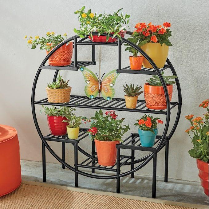 Round Ring Plant Stand House Plants Decor Plant Decor Indoor Plant Decor