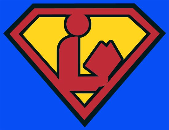 Courtesy of: www.swissarmylibrarian.net  Love the Superman Library logo!