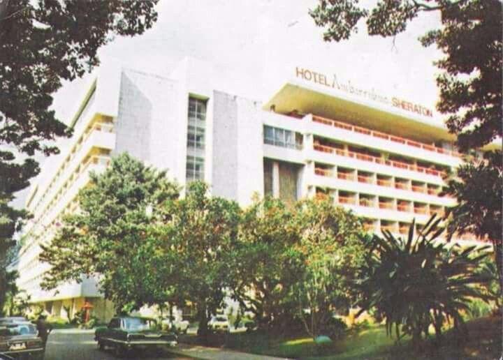 Hotel Ambarrukmo (Sheraton), Yogyakarta 1970an - 1980an