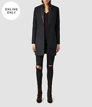 Women's Lorie Coat (Charcoal) -