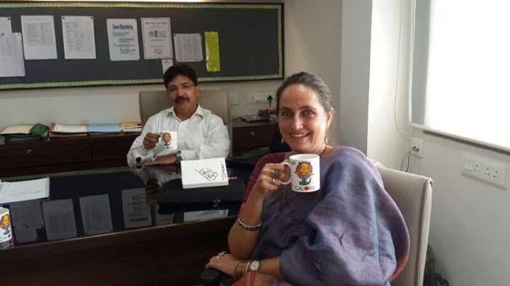 Ms Sanjana Kapoor visits DPS Bopal