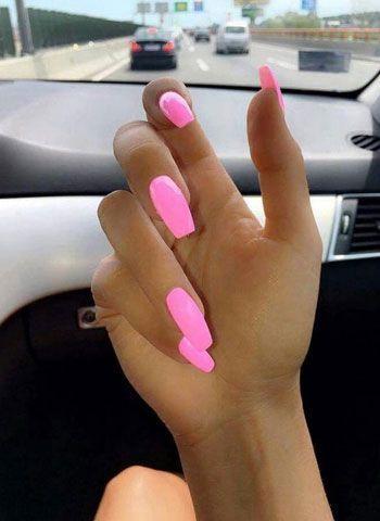 77 helle Neonnägel zum dieses Sommers zu versuchen#fashionhijab #fashionjewelry…