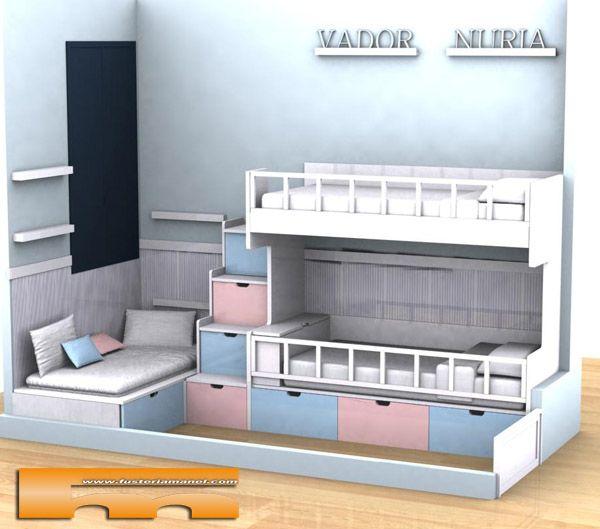 144 best images about habitaciones infantiles on pinterest - Color habitacion nino ...