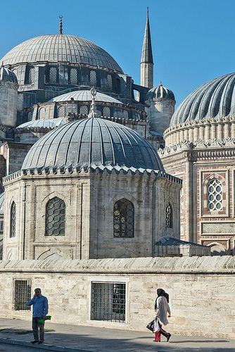 The şehzade mosque (prince's mosque), istanbul, turkey #masjid #islamicarchitecture