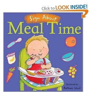 Sign About Meal Time, baby sign language