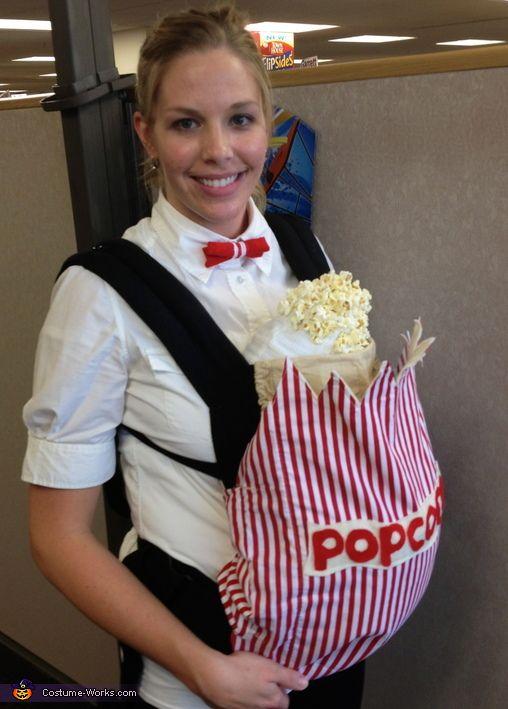 Popcorn Baby - Halloween Costume Contest via @costumeworks