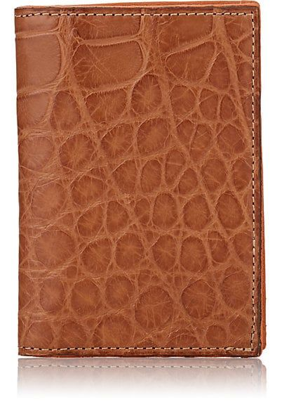 0dd56f628783 Barneys New York | Alligator Folding Card Case | $495 | Barneys New York's  folding card