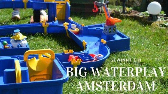 Wasserspaß - Der BIG Waterplay Amsterdam (inkl. großer Verlosung)