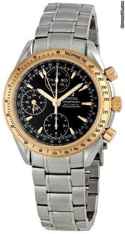 Omega Speedmaster Day Date ad: $5,250 Omega 323.21.40.44.01.001 Speedmaster Day-Date Mens Chrono... Ref. No. 323.21.40.44.01.001; Steel; Automatic; Condition 0 (unworn); New; With box; With paper