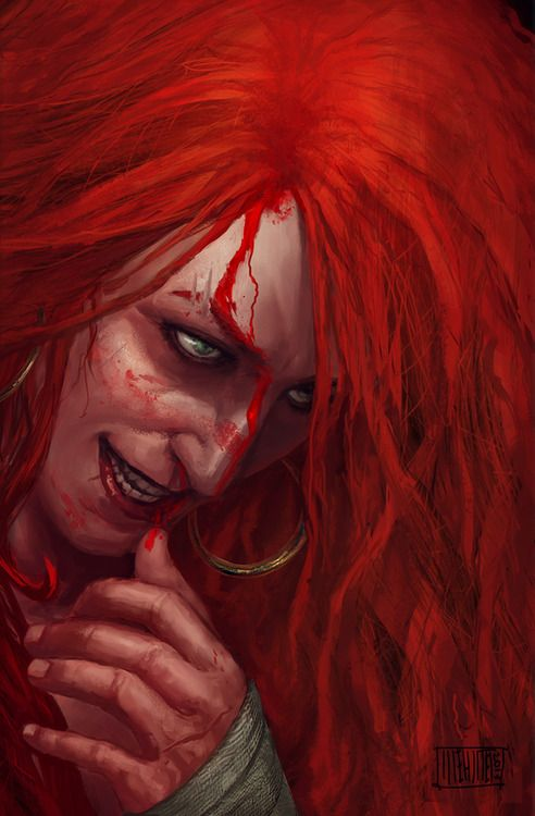 Red Sonja by ~Memed